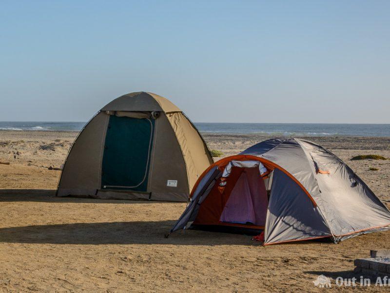 Tent at Jakkalsputz
