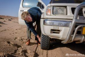 Deflating tyres