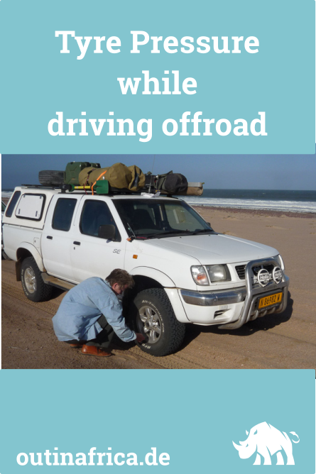 The correct Tyre Pressure for driving Offroad