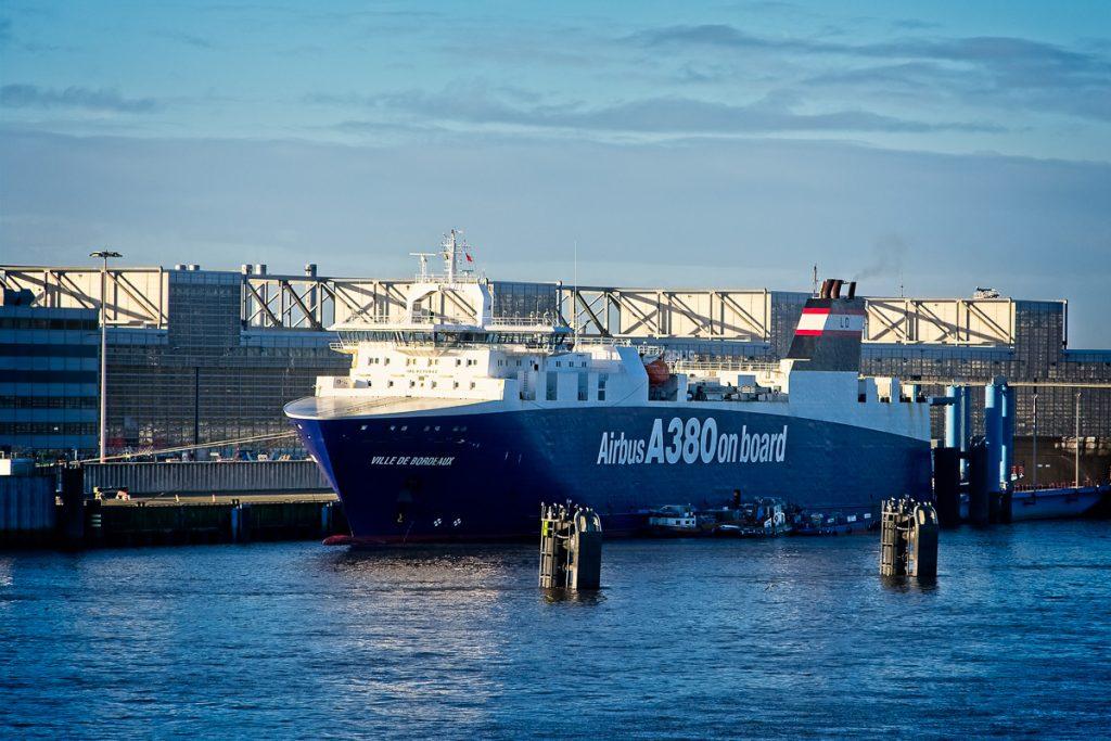 Ship at Airbus