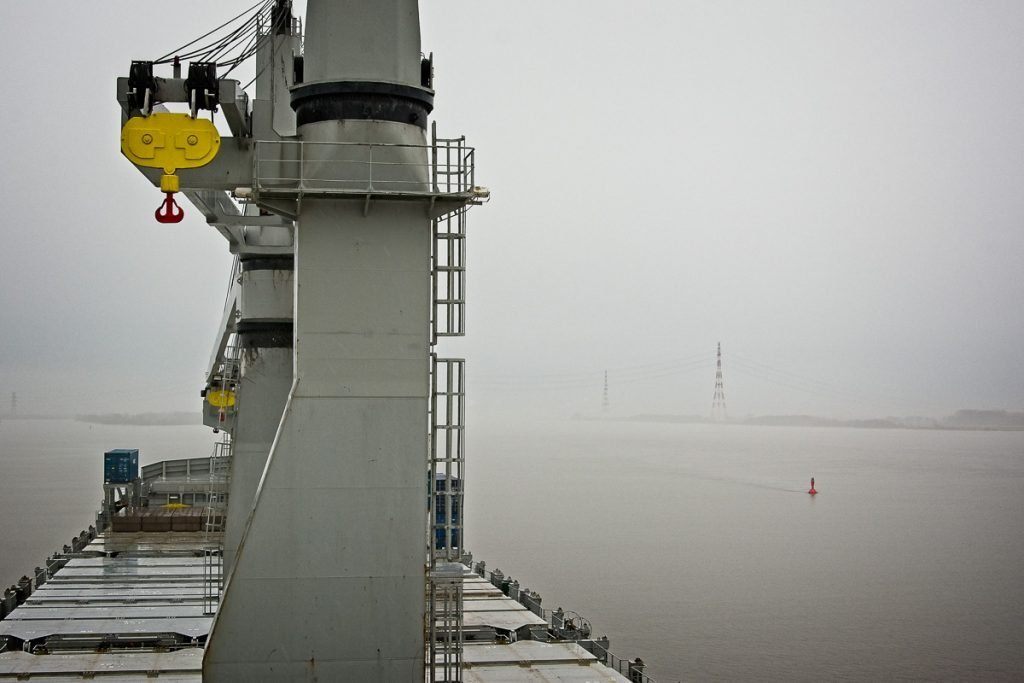 Fog on the Elbe