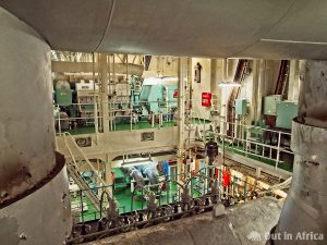 In the engine room