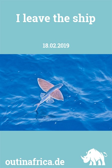 18.2.2019 – I leave the ship