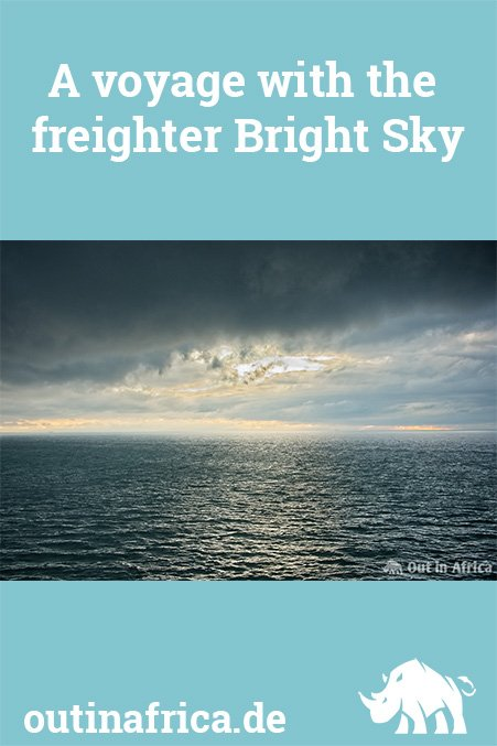 A voyage with the freighter Bright Sky