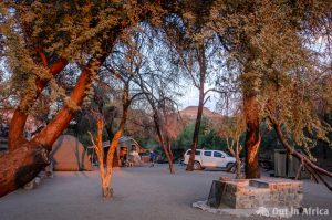 Campsite Tsauchab River Lodge